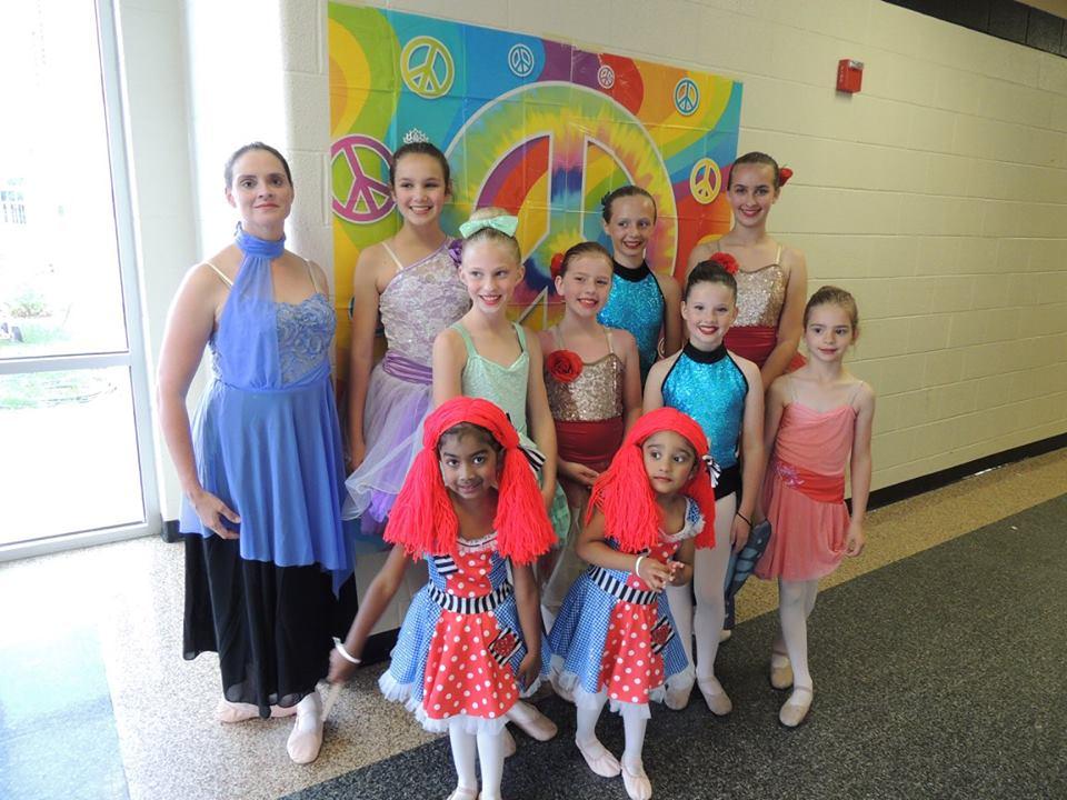 Rhythm and Arts - dance students