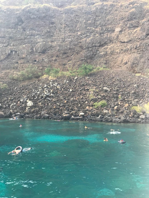 Hawaii snorkeling lagoon