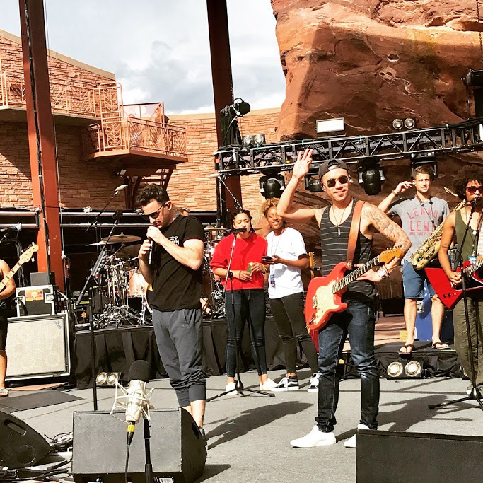 OAR Soundcheck pic Red Rocks