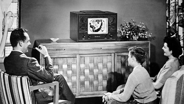 first tv