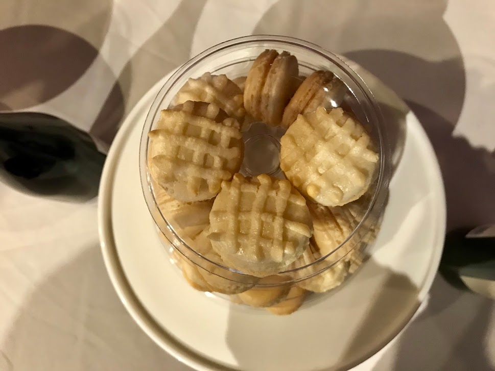 waffle macarons
