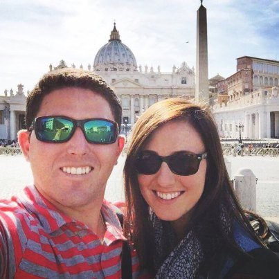 Cristina and Alex Rome