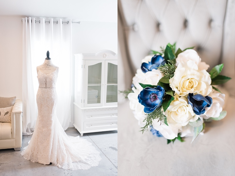 ashton hill,ashton hill farm,blue,blue and coral wedding,bryce,cedar rapids,cold,coral,donut bar,lace,low back dress,modern farmhouse,plunging neckline,royal blue,snow,taylor,white,winter,