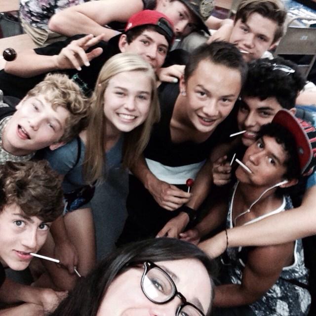 9th grade selfie