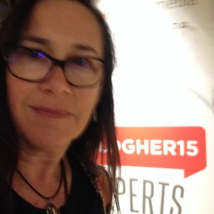 at BlogHer15 in NYC