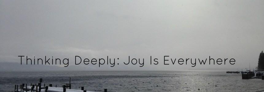 Joy Is Everywhere