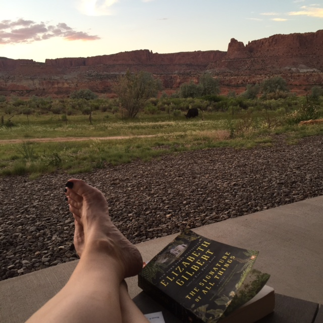 Capitol Reef National Park reading