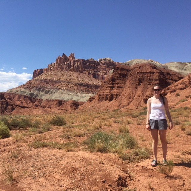to look at life as it is Capitol Reef National Park