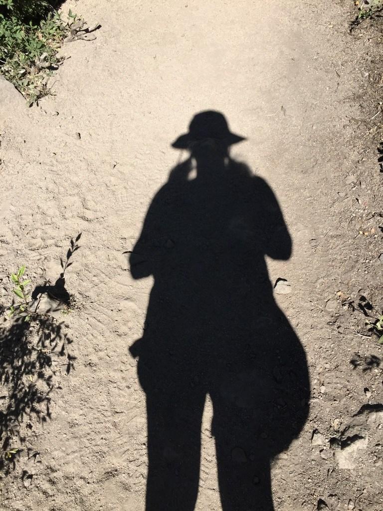 walking shadow