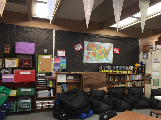 flexible classroom seating beanbags