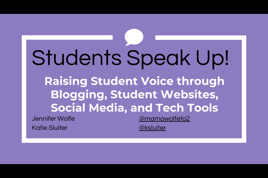 NCTE 2018: Raising Student Voice Through Blogging, Student Websites, Social Media and Tech Tools