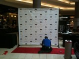 Getting the red carpet ready