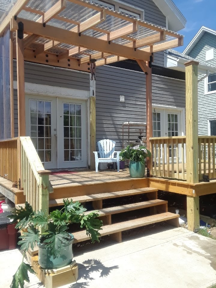 troy exterior deck
