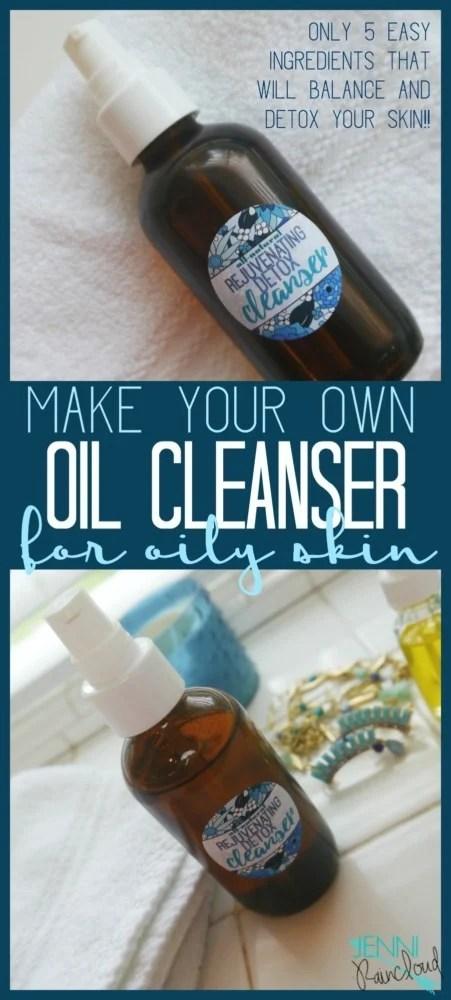 DIY Oily Skin Oil Cleanse