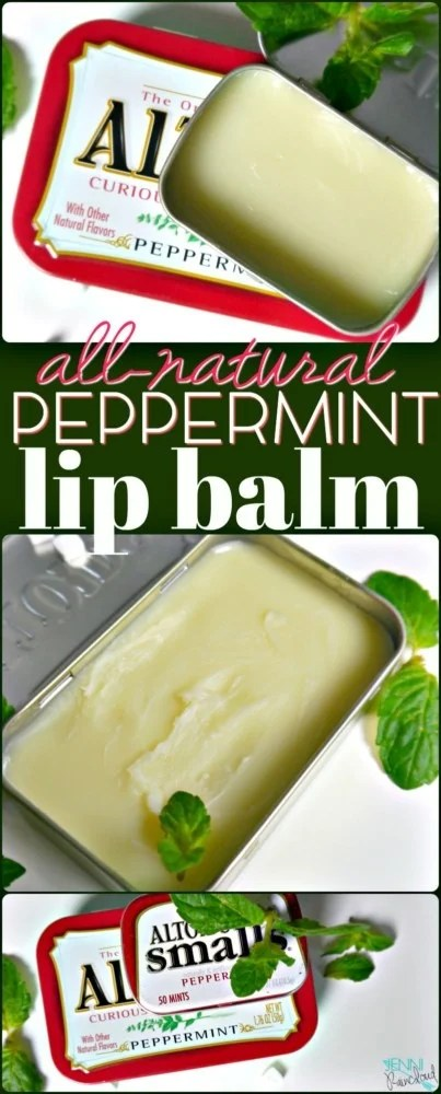 DIY Peppermint Lip Balm