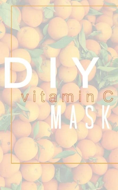 Vitamin C Mask DIY