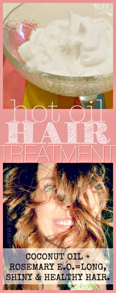 DIY Hot Oil Treatment