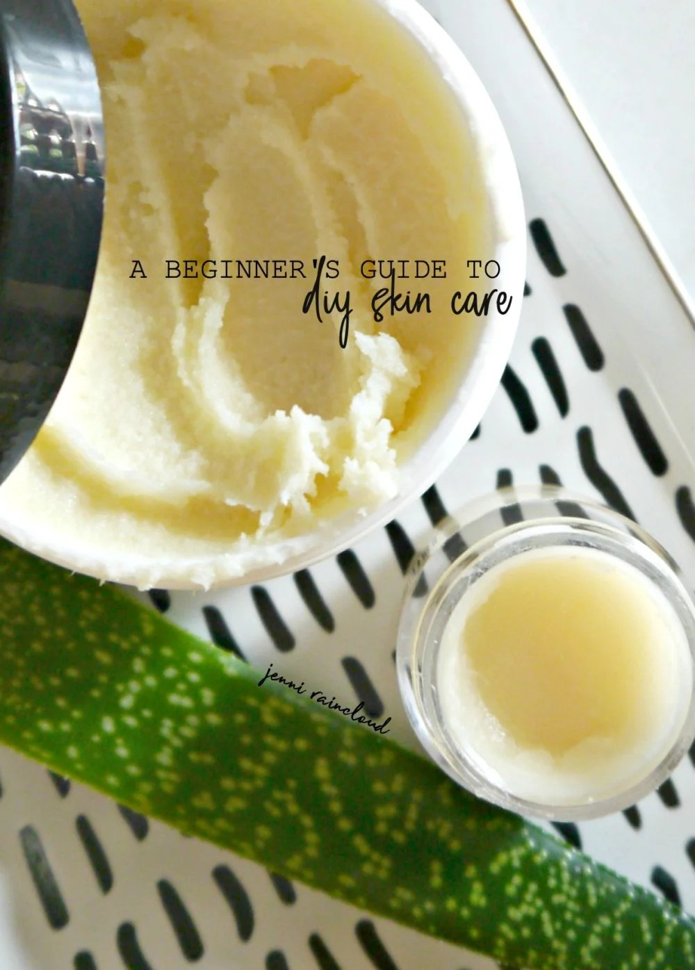 Beginner's Guide to DIY Skin Care