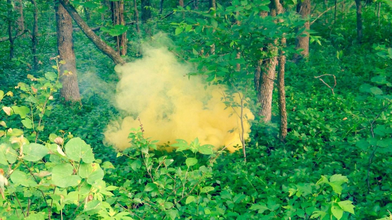 Smoke Bomb Art