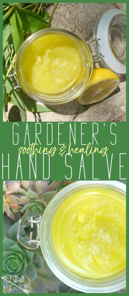Gardener's Hand Salve DIY