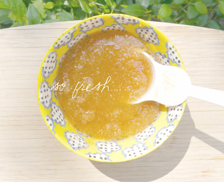 lemon sugar scrub 2