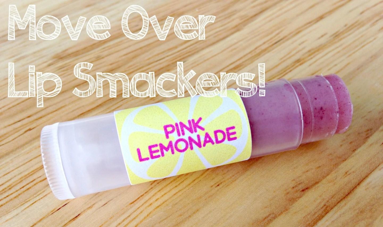 DIY Pink Lemonade Chapstick
