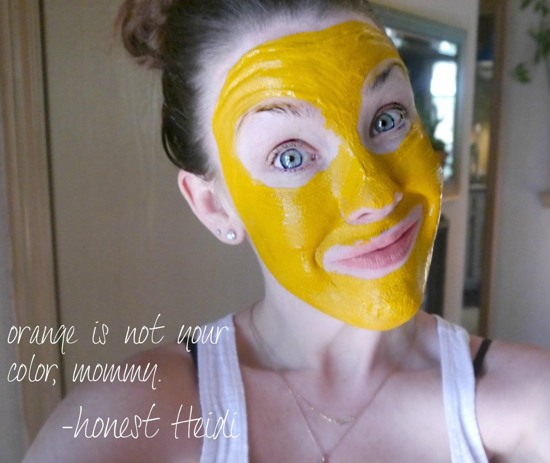 Turmeric and Yogurt DIY mask