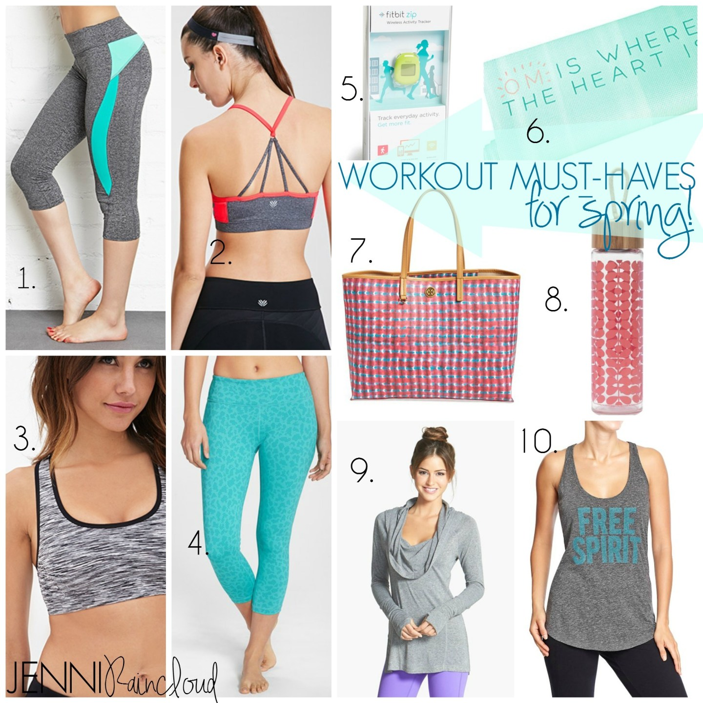 Workout Must-Haves