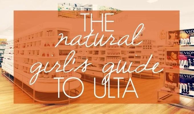 Natural and Organic Lines at Ulta