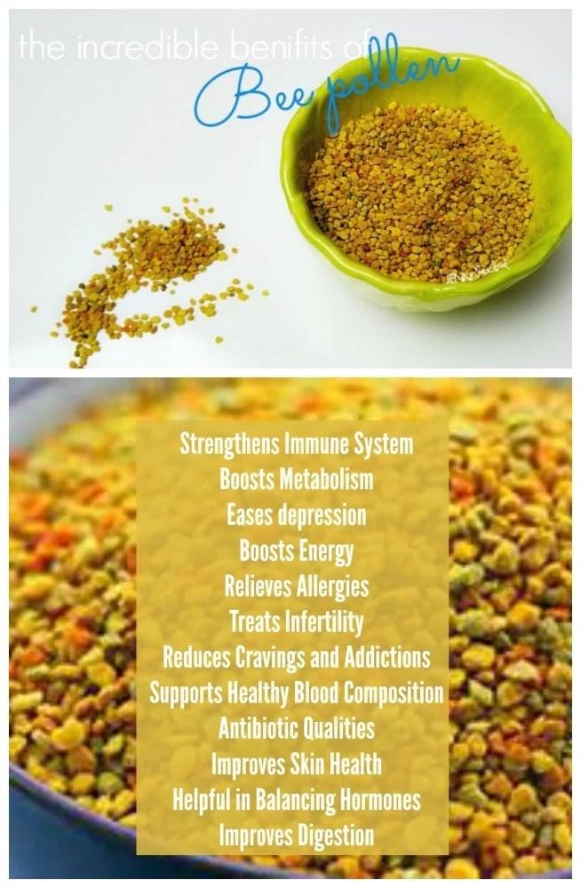 Bee Pollen Benefits