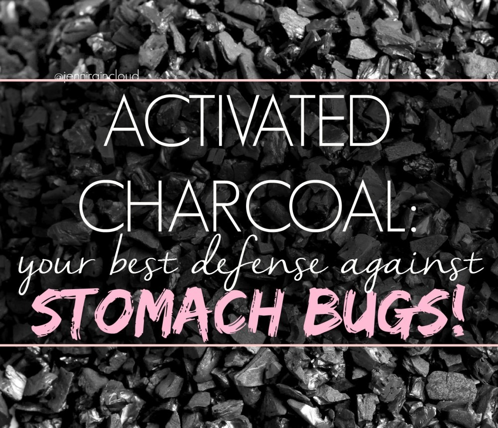 Activated Charcoal for Stomach Bugs
