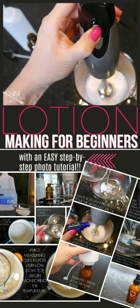 DIY Lotion Tutorial for Beginners