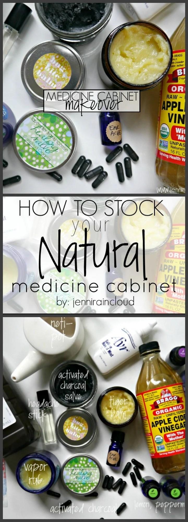 DIY Natural Medicine Cabinet