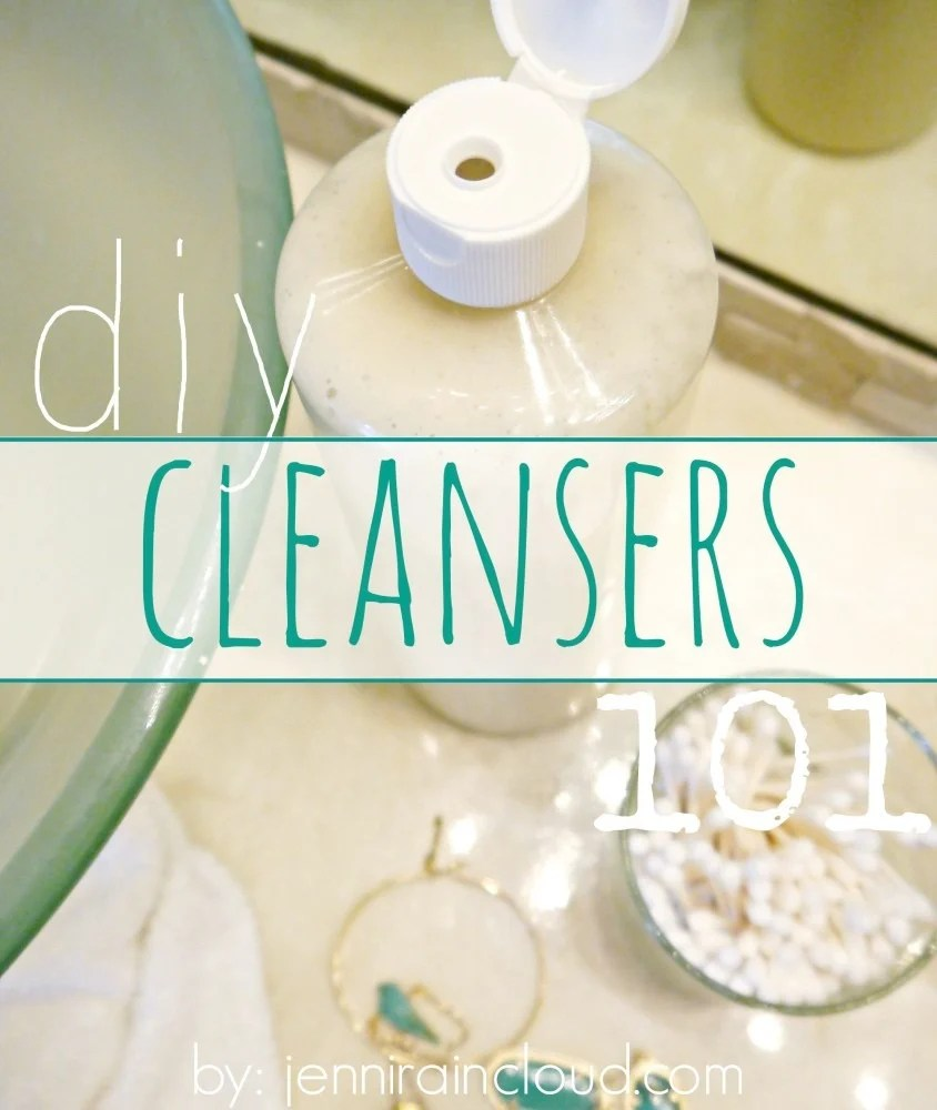 DIY Cleanser making