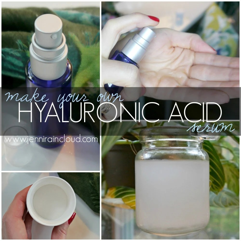 Hyaluronic Acid Serum DIY