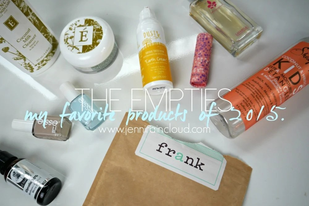 2015 Favorite Products