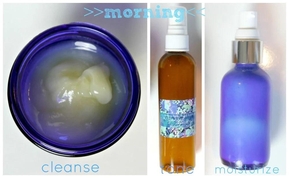 My DIY Skin Care Morning Routine