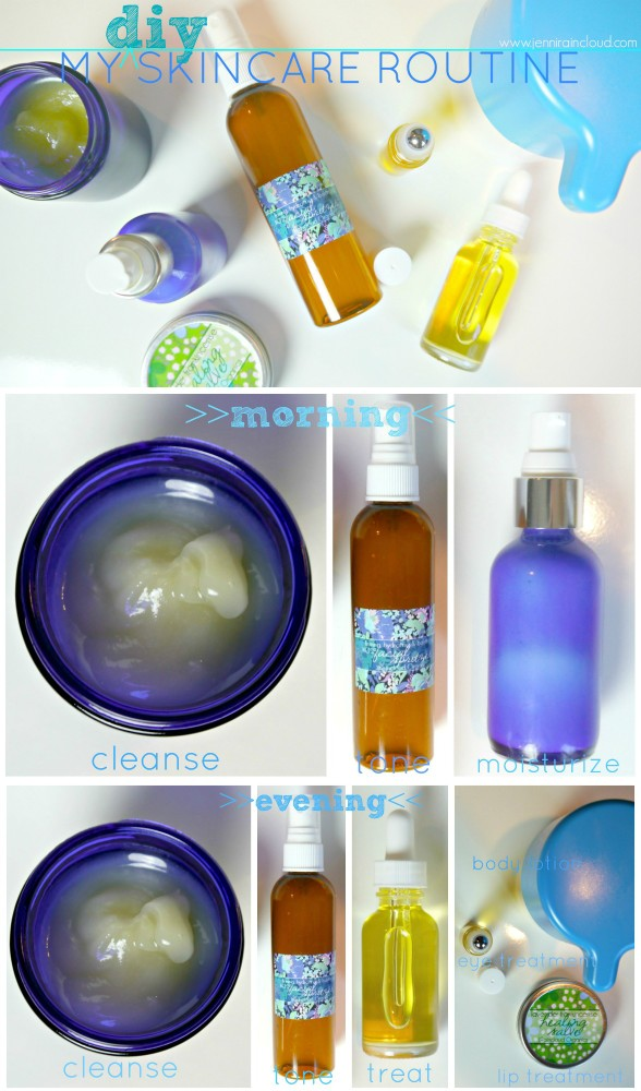 Skin Care routine with DIY Skin Care