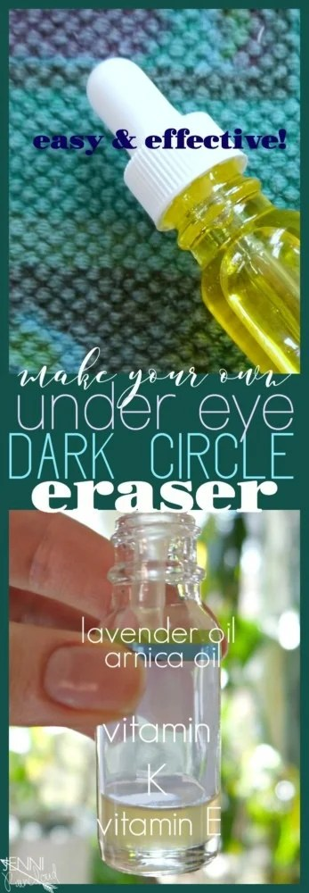 DIY Dark Under Eye Circle Eraser