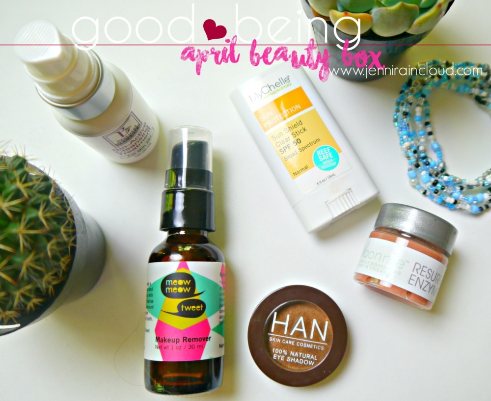 April Good Being Natural Beauty Box
