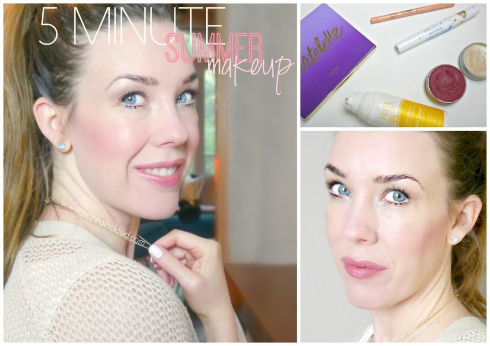 5 Minute Summer Makeup