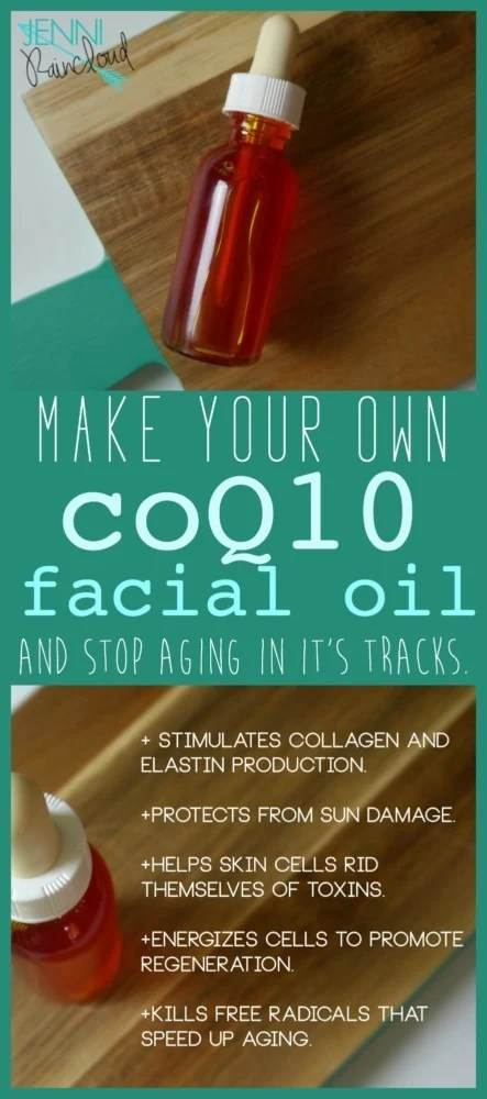 coQ10 Facial Oil DIY