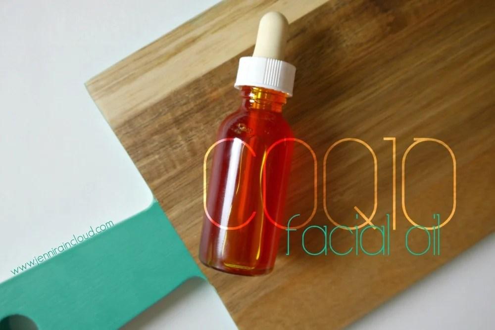 DIY coQ10 facial oil
