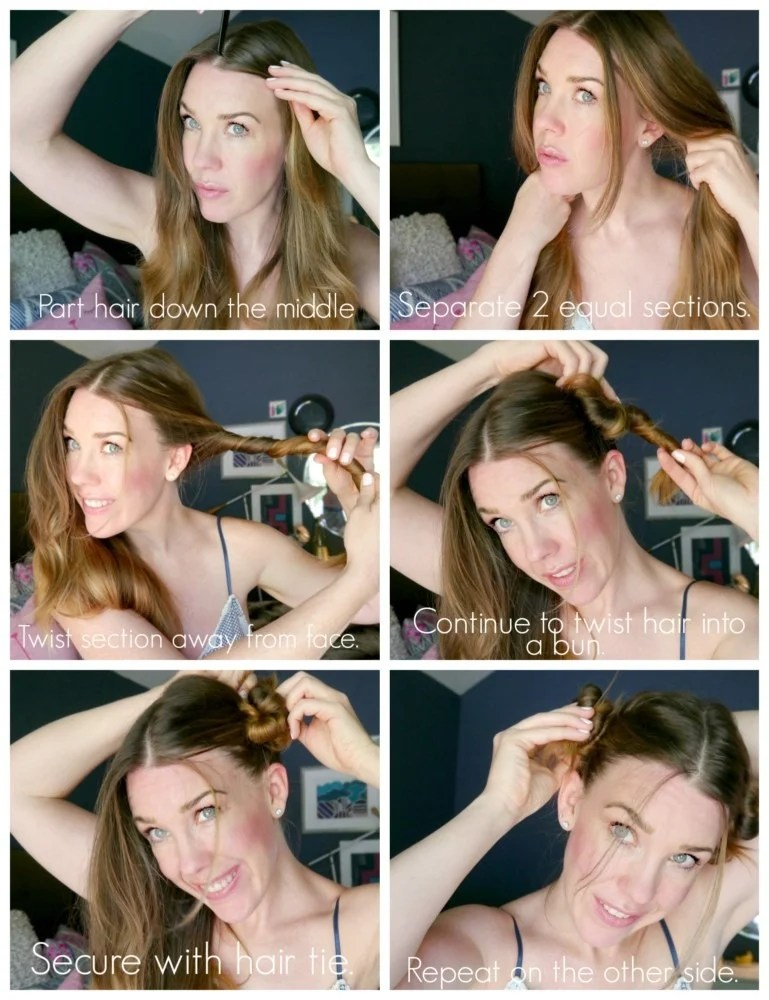 No heat curls for hair