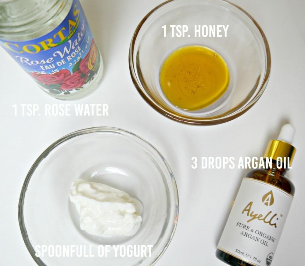 Argan Oil and Yogurt Facial Mask DIY