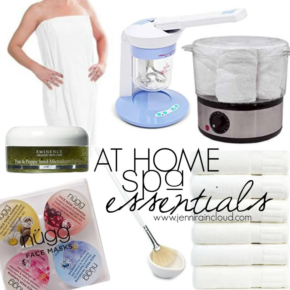 At Home Spa Essentials