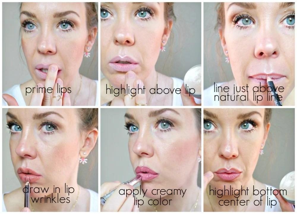 Makeup Tips for Big Lips