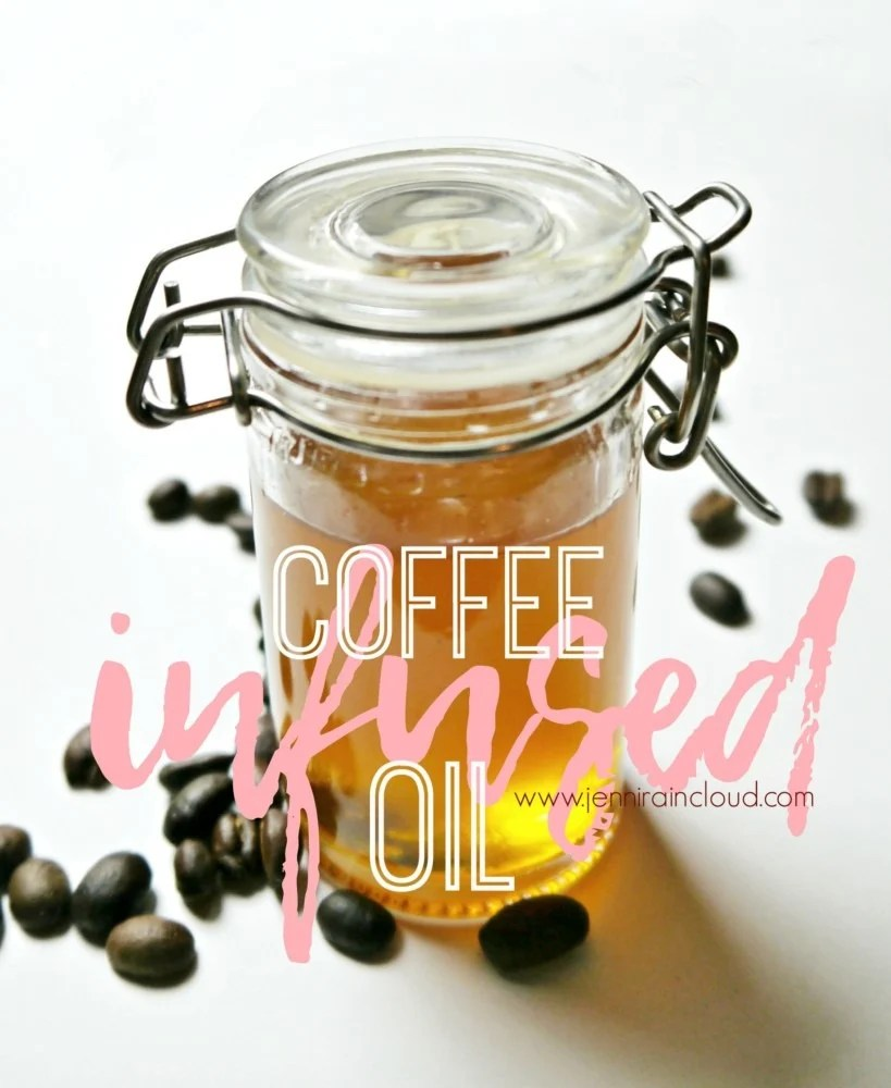 Coffee Infused Oil