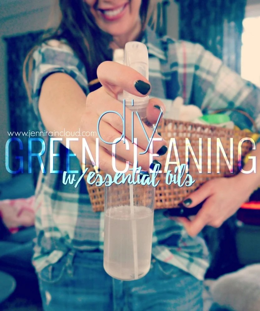 Green Cleaning with essential oils