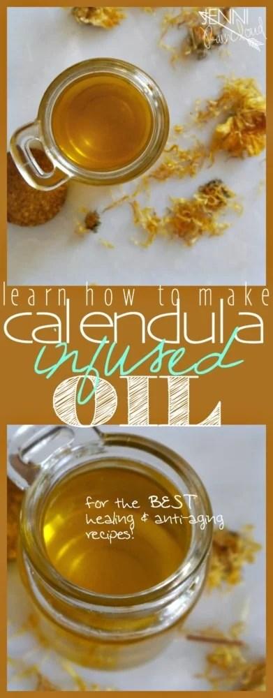 Calendula Infused Oil DIY